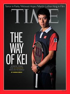 Congrats to Kei #Nishikori for making the cover of TIME Magazine! Very cool!