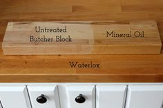 Treating Butcher Block Countertops: Waterlox vs. Mineral Oil - Driven by Decor