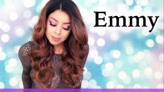 Outre Swiss Lace L Paring Lace Front Wig EMMY   DR2730