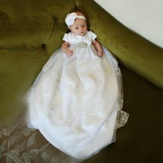 d2433841a 13 Best Christening Gowns images | Baby gown, Baptism dress, Baptism ...