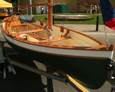 """Tammie Norrie by Iain Oughtred; 13' 6"""" Clinker Dinghy. - Click Image to Close"""