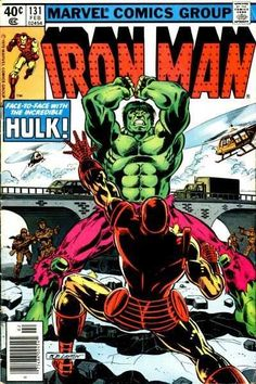 Iron Man #131 - Hulk is Where the Heart Is