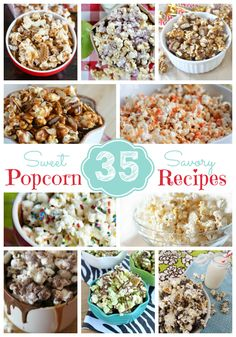 35 Sweet & Savory Popcorn Recipes - Sweet Bella Roos