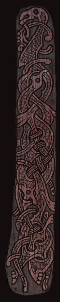 Border in Oseberg Style by Wodenswolf.deviantart.com on @deviantART