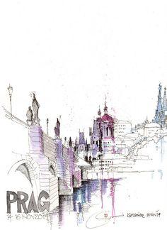 Karlsbrücke, Prag, CZ   Flickr - Photo Sharing!