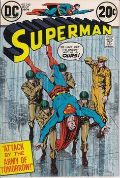 Superman #265 DC comics cover Man of Steel