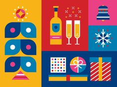 Holidays by Benjamin Garner #Design Popular #Dribbble #shots