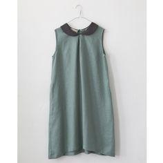 Light Bluish-green Sleeveless Dress