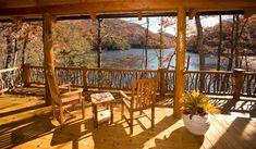 Lake house cabin home