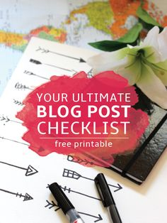 Your Ultimate Blog Post Checklist: Before You Hit Publish!