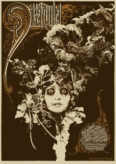 Dracula poster by Vania Zouravliov and Aaron Horkey