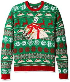 Blizzard Bay Boys Crew Neck Snowman Suspenders Ugly Christmas Sweater