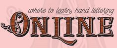 Where to Learn Hand Lettering Online
