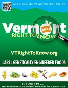 VTRightToKnow.org #RightToKnow #LabelGMOs