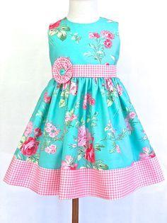 Little Girls Easter Dress Toddler Easter Dress by 8thDayStudio