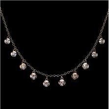 Diamond Necklace in 14KT White Gold.  $695