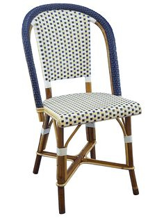 chaises bistrot rotin sur mesure C C Pinterest