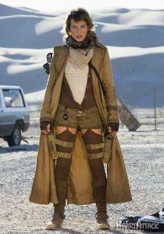 Milla Jovovich Alice movie:biohazard