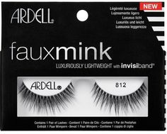 - Dramatic, spiked effect - Lash that is slightly longer in the center opens eyes - Silky soft fibers - Uneven lash lengths give a feathery look - Medium volume STYLE: Glamour Applying False Eyelashes, Applying Eye Makeup, False Lashes, Dramatic Eye Makeup, Dramatic Eyes, Longer Eyelashes, Fake Eyelashes, Ardell Lashes Faux Mink, Makeup 101