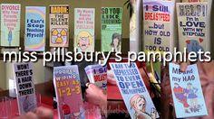 Miss Pillsbury's Pamphlets haha Glee