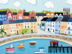 Beaumaris Pier by Janet Bell