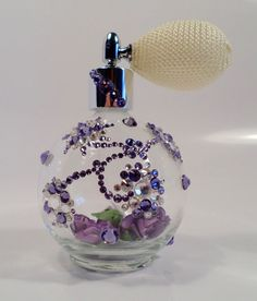 Aquila Amethyst by JaureguiArt on Etsy #perfume #g… - This Epic Perfume just sold on Wrhel.com Want to know what she paid for it? Check it out.