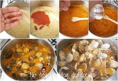 No soy un blog de cocina: PARA HACER ALMEJAS EN SALSA