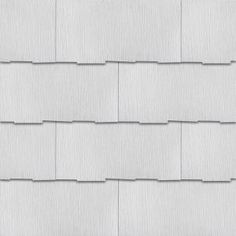 GAF Weatherside Purity Thatched 12 in. x 24 in. Fiber Cement Shingle - The Home Depot Stone Siding Panels, Faux Stone Siding, Stone Veneer Siding, Stone Veneer Panels, Roof Panels, Asbestos Tile, Stacked Stone Panels, Types Of Siding, Shingle Siding