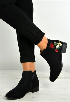 Buy & sell new, pre-owned & vintage fashion 80s Inspired Outfits, Black Ankle Boots, Black Suede, Me Too Shoes, Heeled Mules, Shoe Boots, Vintage Fashion, Heels, Stuff To Buy