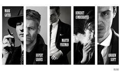 The men of Sherlock.