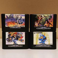 #GoldenAxe 2  #RocketKnightAdventures  #KidKameleon  #SuperThunderBlade für #Sega #MegaDrive #Genesis #GameOfTheDay