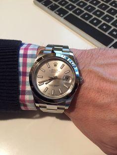 Rolex Datejust II Silver dial