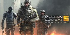 Modern Combat 5 APK Mod v1.5.1d +Data (Ai can't attack) | Free 4 Phones