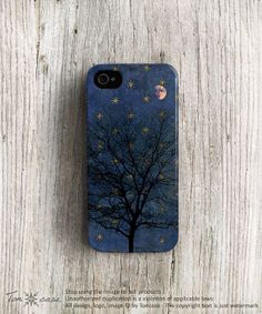 Star iPhone 5 case tree iPhone 5s case mid night iPhone by TonCase, $21.99