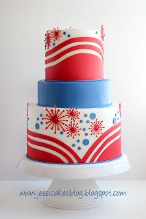 Jessicakes: 4th of July Cake
