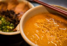 Where Vancouver Chefs Go for Ramen: Hokkaido Ramen Santouka, 1690 Robson Street, Recommended by Chef David Hawksworth, Hawksworth Ramen, Vancouver Restaurants, Tasty, Yummy Food, Kid Friendly Meals, Curry, Food And Drink, Noodle Soup, Mom