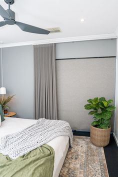 A great example of how curtains and blinds make an unbeatable pair.