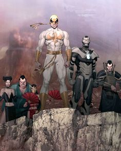 Ironfist and Squad Art by Ariel Olivetti Download at nomoremutants-com.tumblr.com #marvelcomics #Comics #marvel #comicbooks #avengers #captainamericacivilwar #xmen #xmenapocalypse #captainamerica #ironman #thor #hulk #ironfist #blackwidow #spiderman #inhumans #blackbolt #civilwar #spiderman #infinitygauntlet #blackpanther #guardiansofthegalaxy #deadpool #wolverine #drstrange #infinitywar #thanos #magneto #cyclops #NoMoreInhumans http://ift.tt/2cQ0mUZ