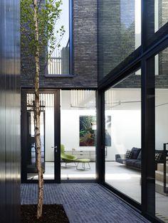 BLACKBOX: Culford Mews London by Form_art Architects - Vande Moortel Clay Paving