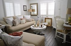 Cozy Cottage Home Decorating for Fall
