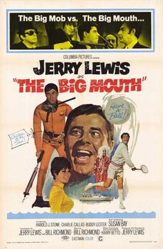 """The Big Mouth (1967) While fishing on a San Diego beach, Gerald Clamson catches ... a sea diver! Even more weird, the """"fish"""" resembles him. The man, who is not (yet) dead, reveals his secret to the pe"""