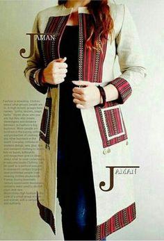 Ajouter pour la veste baije Afghan Clothes, Afghan Dresses, Abaya Fashion, Fashion Dresses, Iranian Women Fashion, Sleeves Designs For Dresses, Stylish Dresses For Girls, Ajouter, Fashion Sewing