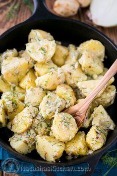 YUMMY - Potatoes in Garlic Cream Sauce