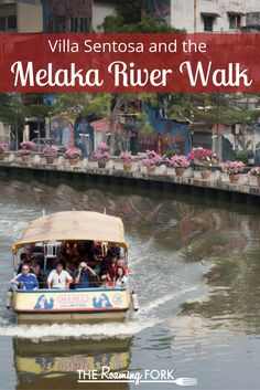 You don't want to miss the beauty of a walk along the Melaka River in Malaysia!