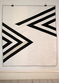 Angles quilt by Alexis Deise, 2013