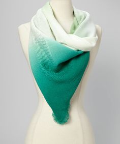 Make a statement with this sassy scarf! A perfect pop of color in an ombre design makes for an accoutrement that complements and brings life to any style, while the length allows for a variety of looks.Approx. 39'' x 39''AcrylicHand wash; dry flatImported