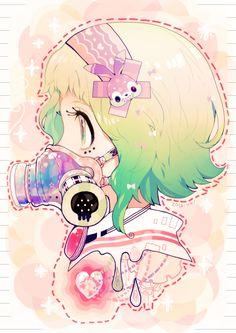 Tags: Anime, Vocaloid, GUMI, Pixiv, Souno Kazuki
