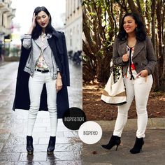 Style Me Friday: White Jeans