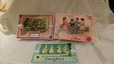 Easter cards with a vintage theme