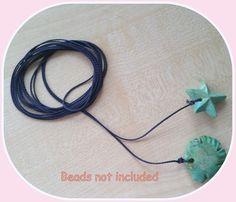 Blythe doll Navy colour pull charms cord*   * 2 meter *  * new *
